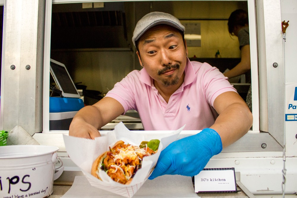 bo kwon the owneroperator of bos kitchen is from seoul he went to school there earning a degree in business administration while working part time in - Bos Kitchen